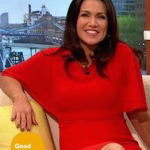 Susanna Reid Goes Up 66 places in FHM's Sexiest Women Poll To No.30 Because Of Good Morning Britain