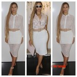 Beyonce Loves Her Nude Belt So Much She Wears It TWO Days In A Row!