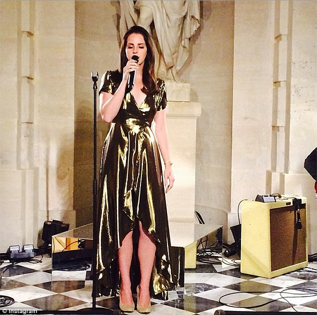 Kanye West Surprises Kim Kardashian As He Has Lana Del Rey Perform At Their Pre-Wedding