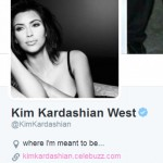 Kim Kardashian Adds West To The End Of Her Name On Twitter!