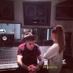 Justin Bieber And Ariana Grande Are Making Music Together! See The Photo From The Recording Studio HERE!