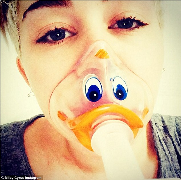 Miley Cyrus Shares Some Quackers Hospital Photos Online