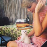 Taylor Swift Introduces Her New Kitty Benson On Instagram