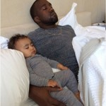 Kim Kardashian Shares Super Cute Photo Of North West With Her Daddy Kanye West On Fathers Day