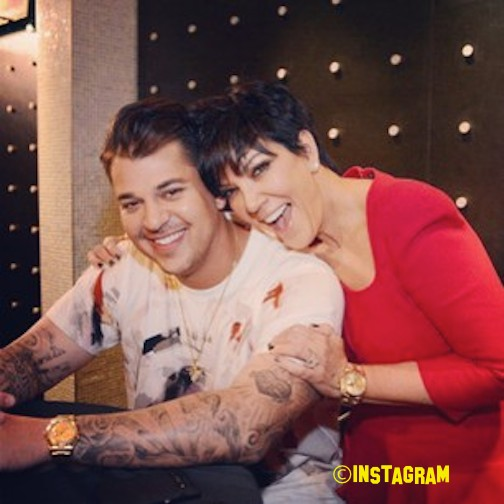 Rob Kardashian Thinks Kris Jenner Is A 'Monster' See Why HERE!
