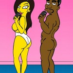 Kim Kardashian And Kanye West Get Turned Into The Simpsons!