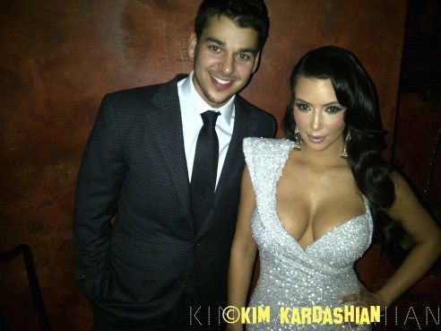 Rob Kardashian Left Kim Kardashian's Wedding Because She Accused Him Of Selling Stories And Not Because He Didn't Want To Be In The Wedding Photos!