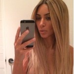 Kim Kardashian's Blonde Hair Was A Wig!