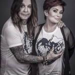Ozzy Osbourne Has A Grope Of Sharon Osbourne's Breasts As They Pose For A Photo For A Save The Arctic Campaign