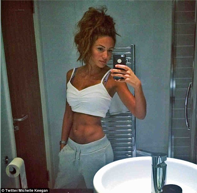 Michelle Keegan Shows Off Her Abs In New Instagram Snap