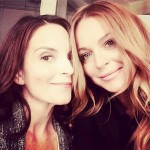 Lindsay Lohan's Selfie With Tina Fey Gets Removed!