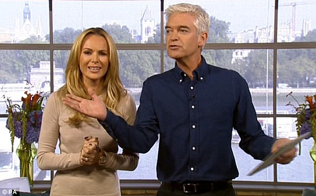 Amanda Holden Admits She Had First Day Nerves As She Hots This Morning!