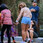 PHOTOS: Beyonce, Solange, Tina Knowles and Blue Ivy at Griffith Park
