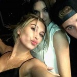 Justin Bieber, Hailey Baldwin and Kendall Jenner Spotted at the Clippers Game
