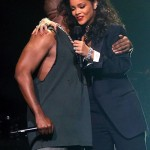 VIDEOS: Rihanna and Kanye West Perform at DirectTV's Super Bowl Party