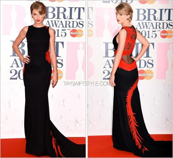 brit-awards-red-carpets-taylor-swift