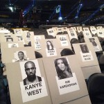 Grammy Awards 2015 Seating Chart: Kim Kardashian, Kanye West, Beyonce, Jay Z, Rihanna, Gaga and more!