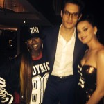 Katy Perry Hangs Out with John Mayer and Missy Elliott After the Super Bowl Half Time Show