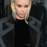 PHOTOS: Kim Kardashian Debuts a Platinum Blonde Look