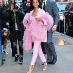VIDEO: Rihanna Promotes 'Home' Movie on GMA