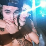 Justin Bieber Parties Topless With Hailey Baldwin and Yovanna Ventura On His 21st Birthday