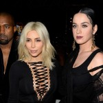 Kim Kardashian Hangs Out With Katy Perry at Givenchy Show