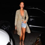 PHOTOS: Rihanna Goes Braless For Dinner