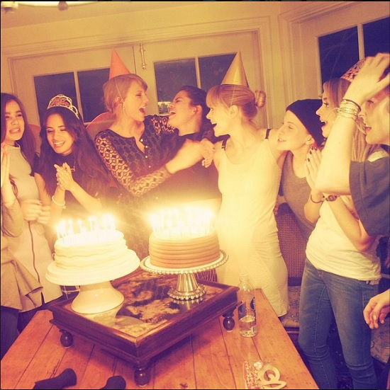 taylor-swift-selena-gomez-haim-jaime-king-at-camila-cabello-birthday-party