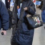 Rihanna Is Back in New York City / Spotted at JFK