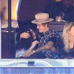 PHOTOS: Justin Bieber Spotted Kissing Ashley Moore During LA Clippers Game