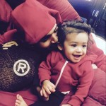 So Cuteeeee! Chris Brown and daughter Royalty together (Photo)