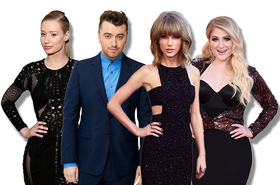 taylor-swift-sam-smith-iggy-azalea-meghan-trainor-billboard-music-awards-2015