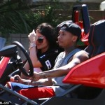 Kylie Jenner and Boyfriend Tyga Spotted Riding Three Wheel Motorcycle