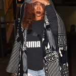 Rihanna is Back in LA| Spotted Arriving at LAX