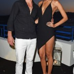 Robin Thicke and Girlfriend April Love Geary Attend Chopard & Annabel's Cannes Party