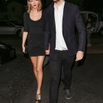 Taylor Swift and Calvin Harris Spotted Holding Hands on their Way to Dinner