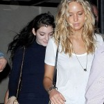 Jennifer Lawerence Hangs Out With Lorde in New York City
