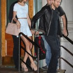 PHOTOS: Taylor Swift and Calvin Harris Hold Hands While Stepping Out For Dinner