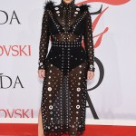 Kim Kardashian Stuns in Sheer Dress at 2015 CFDA Fashion Awards