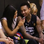 Kylie Jenner & Tyga Get Cozy at Celebrity Basketball Game