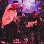 Chris Brown Performs 'Loyal With Ed Sheeran in Las Vegas